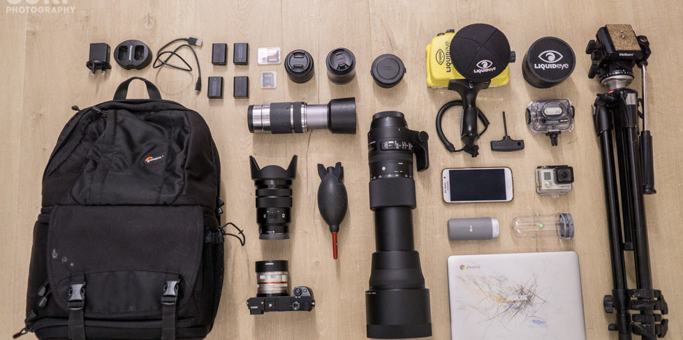 Necessary Equipment for Profesional Photography